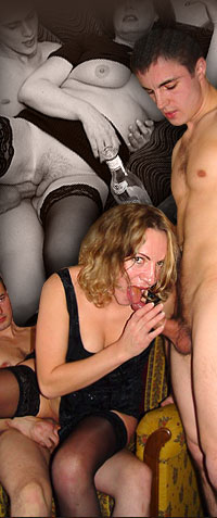 They always want and they always want more. We call them Drunk Moms. Wanna join their orgy?