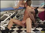strap-on prostate massage