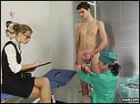 nude nurse milking man