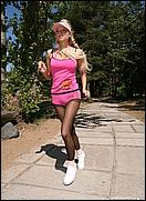girls in pantyhose sports
