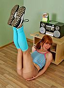 pantyhose dancer