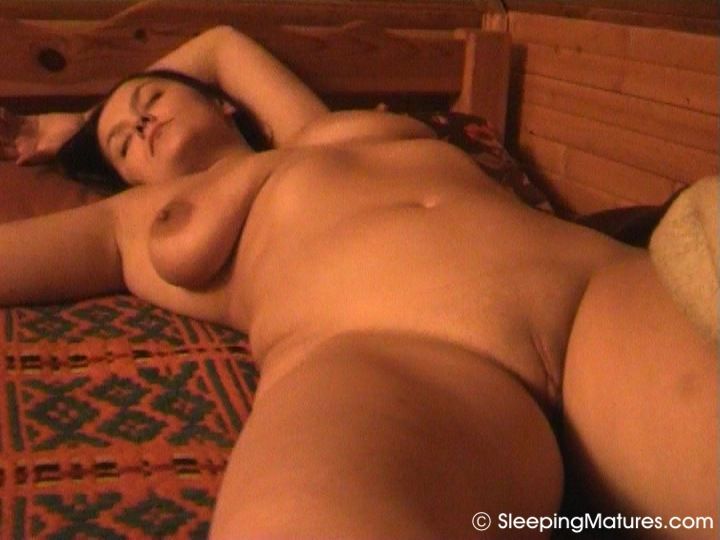 Sleeping bed mature big ass interracial