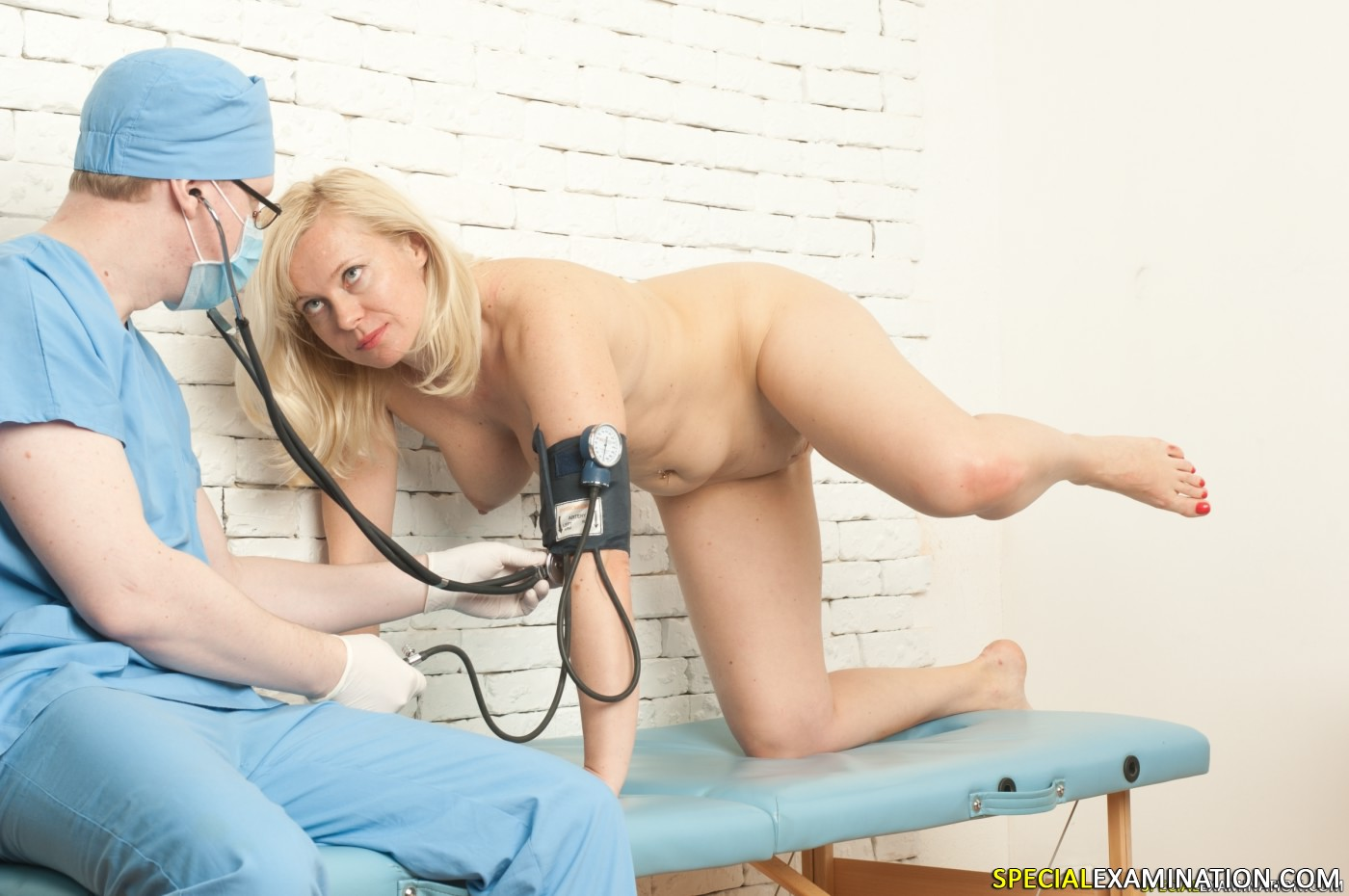 Special gyno exam for shy babe 10