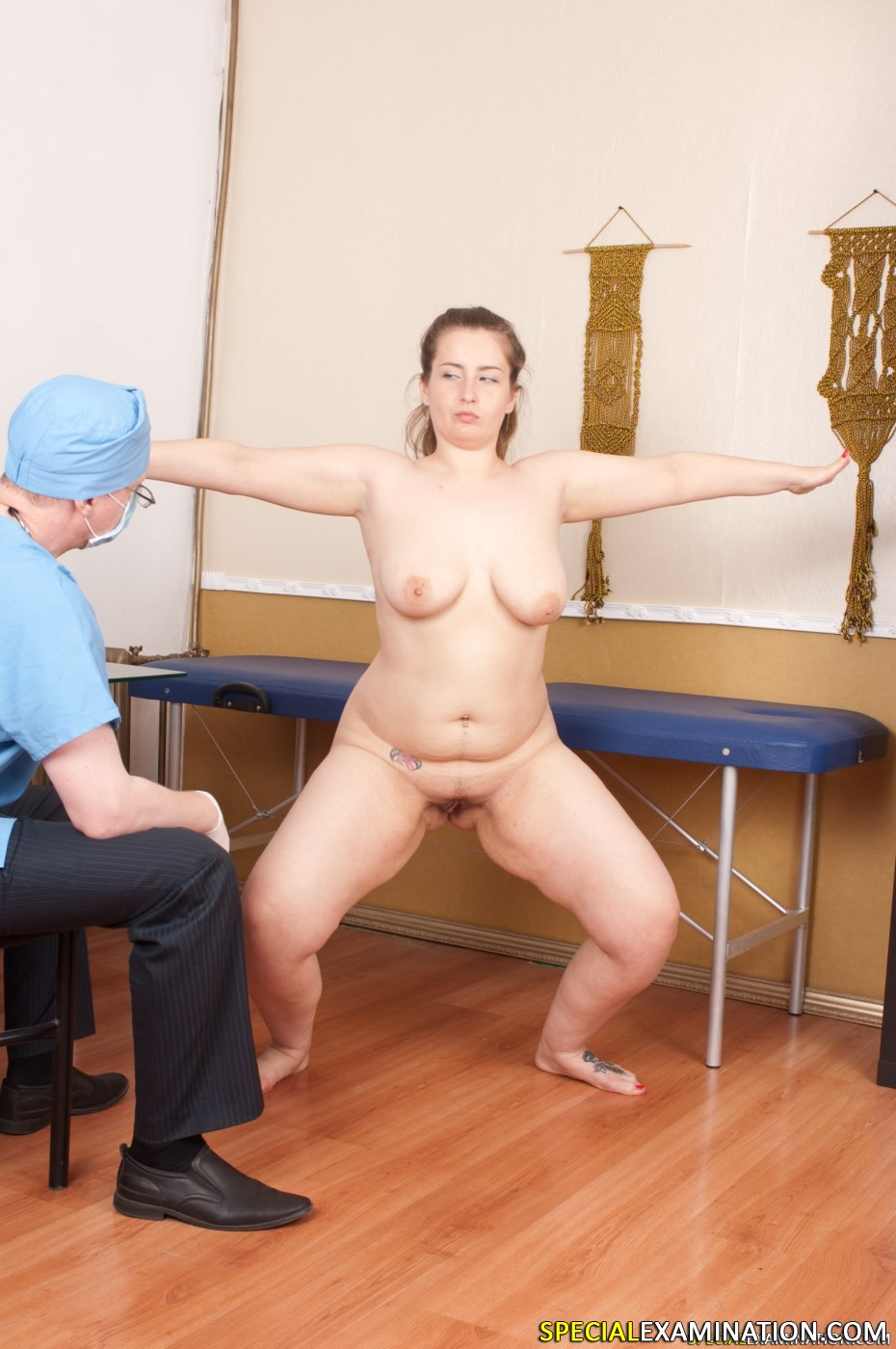 Guy anal exam