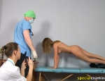 female physical exam video