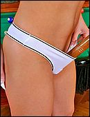 girls white panties