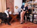 HR office sex domination