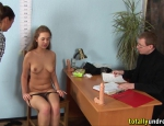 nude job interview